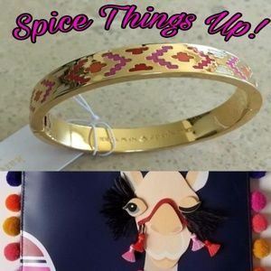 New♠️kate spade Spice Things Up Bracelet!🐪